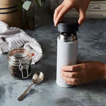 Bottle Reflective Thermos Magisso Food52 Rocky Stainless