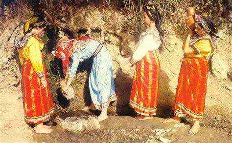 cuisine marocaine la femme dans la société amazighe entre autrefois et