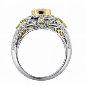 Big diamond wedding ring gold diamondstud for Diamond wedding ring images
