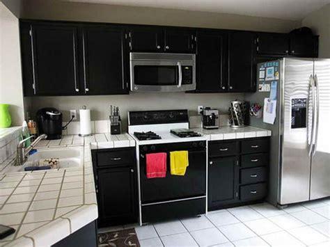 kitchen cabinets painted black kitchen black painted cabinets for kitchen design 6294