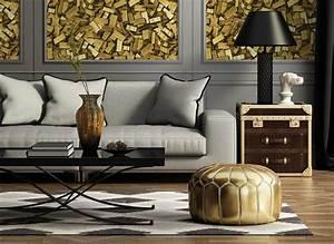 Or et cuivre : une déco aux couleurs métallisées