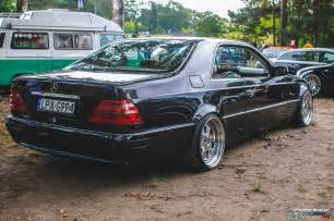 tuning mercedes s600 coupe c140 rear