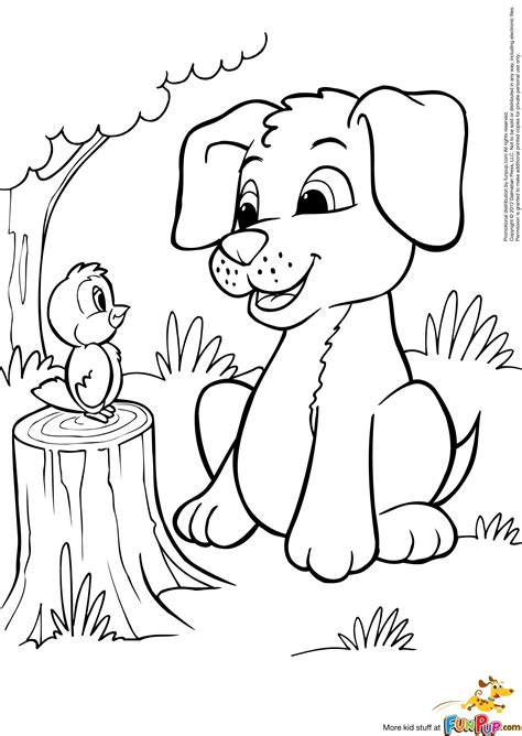photo puppies colouring pages images color sheets