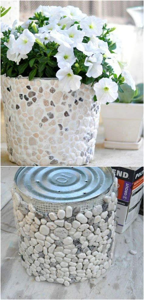 diy repurposing ideas  empty coffee containers