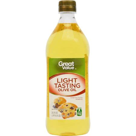 light tasting olive great value light tasting olive 25 5 fl oz walmart