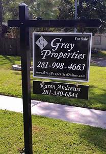 Remove Residential Real Estate Sign from Listing