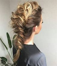 French Braid Mohawk Hairstyles