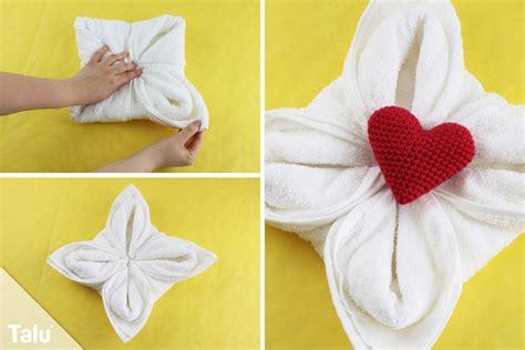 handtuch falten geschenk einfach genial handt 252 cher falten wie im hotel talu de