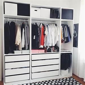 Ikea Offener Kleiderschrank : my new wardrobe schlafzimmer pinterest schrank zimmer kleiderschrank und kleiderschrank ideen ~ Eleganceandgraceweddings.com Haus und Dekorationen