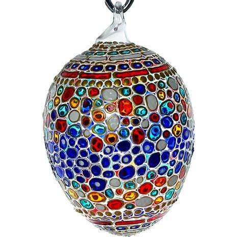 31 best collectible hand painted stained glass ornaments