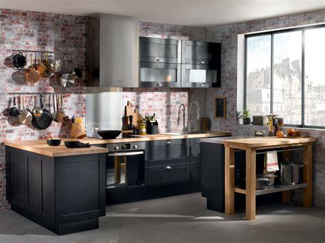 deco meuble cuisine mettez du noir dans la cuisine joli place