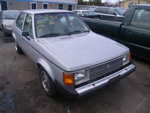 Omni For Sale by Used Salvage Dodge Omni 2 2l 4 1990 For Sale New Britain