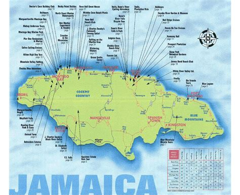 maps  jamaica collection  maps  jamaica north