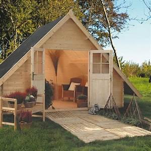 Plan De Cabane En Bois : abri jardin images et photos arts et voyages ~ Melissatoandfro.com Idées de Décoration