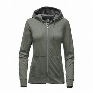 The North Face Lightweight Tri-Blend Full Zip Hoodie Women's