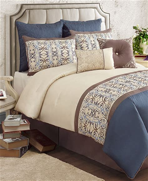 Macys Bed In A Bag Sale by Closeout Venetian 8 Comforter Set Bed In A