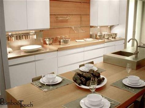 plan de travail cuisine bambou achat credence cuisine plan de travail bois crédences