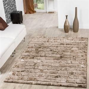 Teppich Grau Beige : teppich torino stone optik grau wohnzimmer teppich braun beige meliert moderne teppiche ~ Indierocktalk.com Haus und Dekorationen