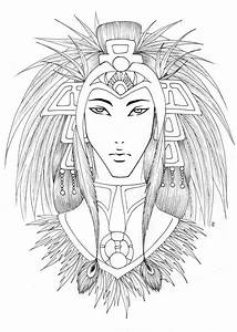 Aztec Drawings Page Tattoo Pictures to Pin on Pinterest