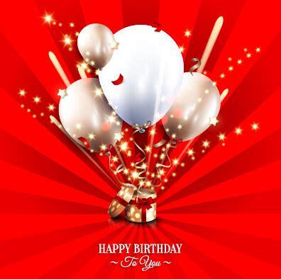 happy birthday greeting cards  vector