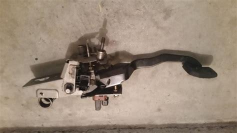 mazda mazda clutch pedal assembly breaks
