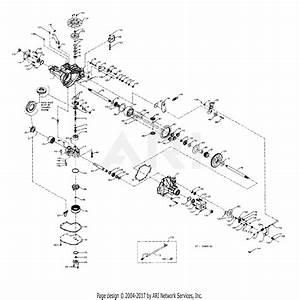 Cub Cadet Hydrostatic Transmission Diagram