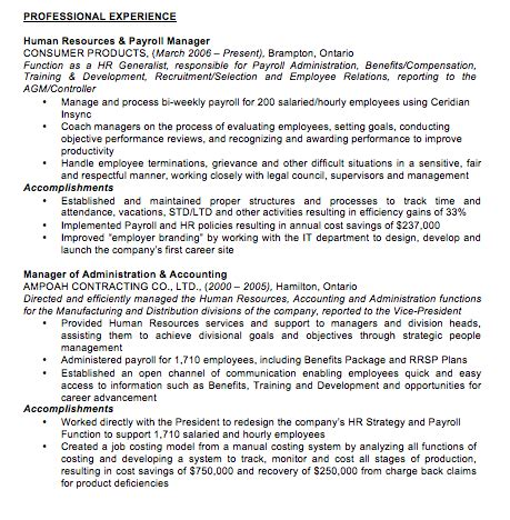 Work Resume Format by Resume Formats Jobscan
