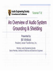 Grounding Tutorial Pdf