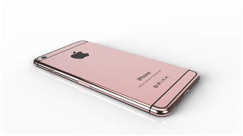 iphone pink gold brikk launches 5 5 inch version of iphone 6 in 24k gold