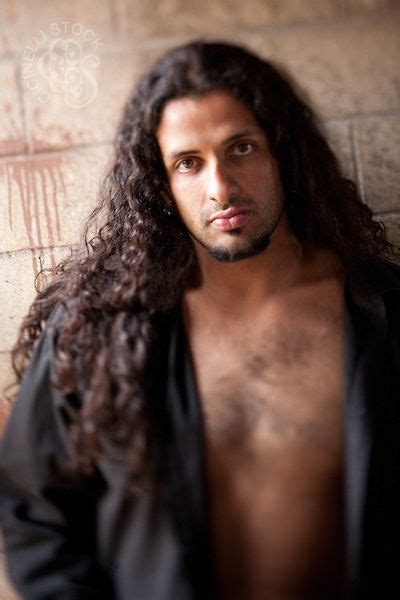 Hispanics With Hair by Manly Hair Portrait Of Hispanic With Hair