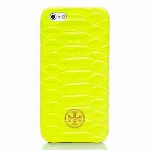 NEON SNAKE HARDSHELL CASE FOR IPHONE 5 from TORY BURCH