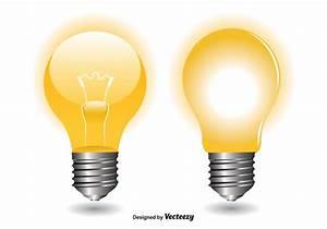 Led Light Bulb Symbol Light Bulb Vectors Download Free Vector Art Stock