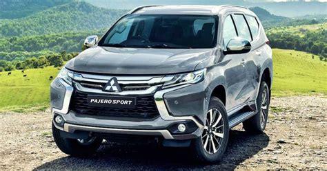 Mitsubishi Pajero 2020 by 2020 Mitsubishi Pajero Sport Review W Specs Models