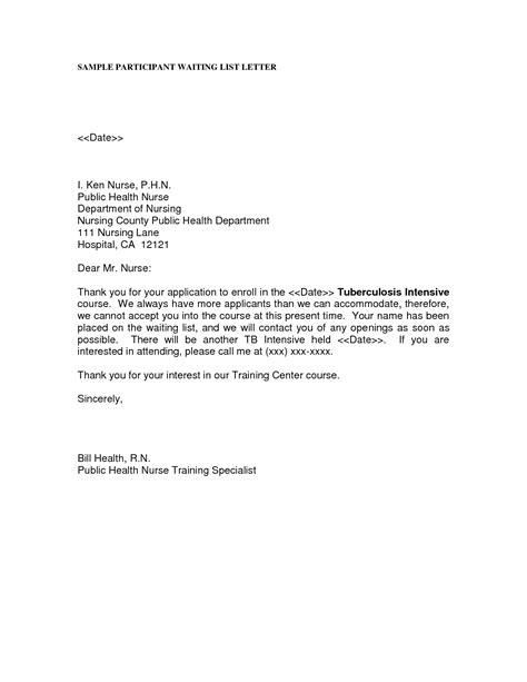 school nurse letter  interest letter