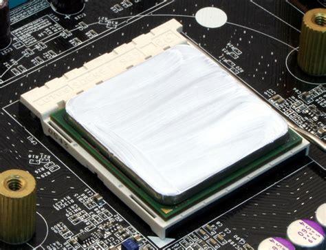 mettre de la pate thermique guide de montage pc comment monter ordinateur simplement application de la p 226 te thermique
