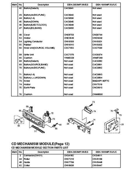 pioneer deh x6700bt wiring diagram and imagenclap co