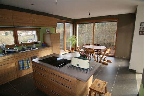 Cuisine Moderne Avec Ilot Central Cuisine Avec 238 Lot Central Pour La Cuisson Architects Team