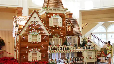 disneys grand floridian resort gingerbread house final