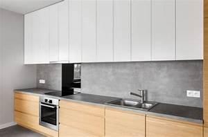 Crédence Béton Ciré : cuisine en b ton cir conseils de mise en uvre et d entretien ~ Mglfilm.com Idées de Décoration