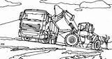 Coloring Digger Tractor Truck Combine Farm Case Semi Dirt Vtn Tractors Harvester Filling Printable Sheets Trailer Colouring John Deere Drawing sketch template