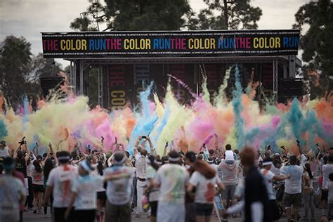 the color run los angeles the color run los angeles on behance