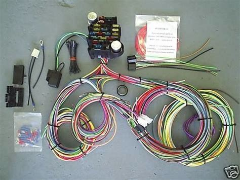 ez wiring harness kit hotrod hotline