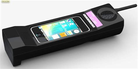 retro phone for iphone zack morris speaker transforms the iphone 4 into a