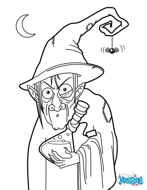 coloriages la potion de la sorciere frhellokidscom