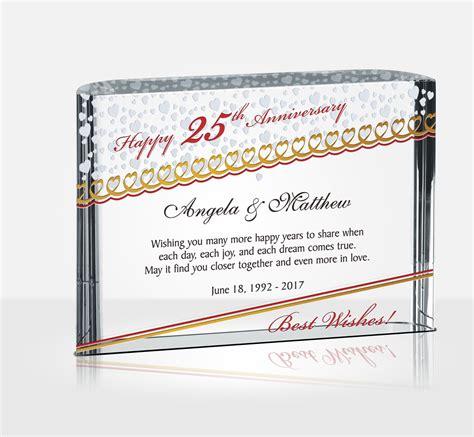 silver wedding anniversary gifts diy awards