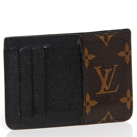 louis vuitton monogram macassar neo porte cartes card holder 93800