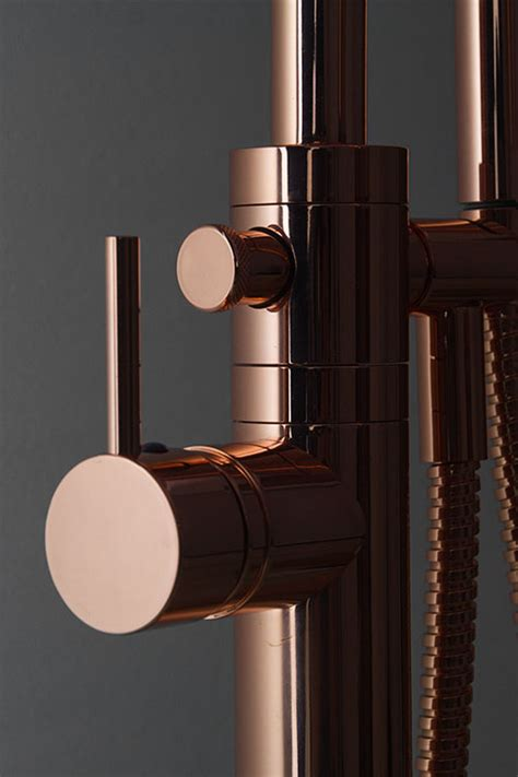freestanding bath tap copper bath filler copper
