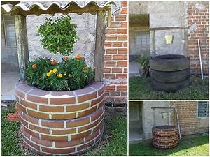 DIY Recycled Tires Wishing Well - Total Survival