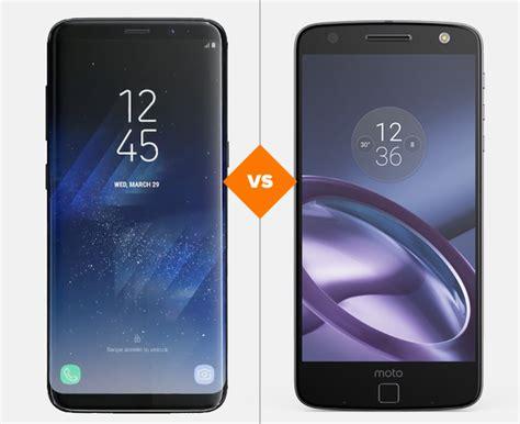 Na Dúvida Entre Galaxy S8 E Moto Z? Veja A Ficha Técnica