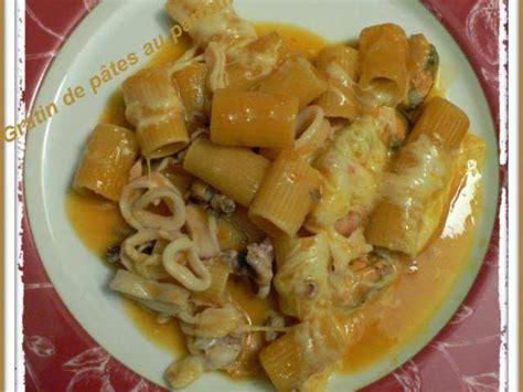 pates au fruits de mer surgeles recettes de fruits de mer et gratins